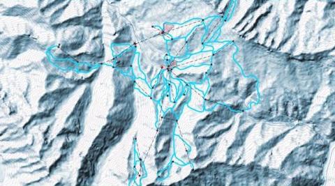 """Курорт  """"Мамисон """" предполагает строительство всех категорий горнолыжных трасс в соответствии с международной системой..."""